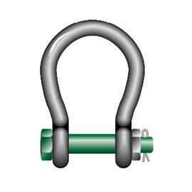 GREENPIN Harpsluiting moerbout grote bekopening - 4750kg t/m 55000kg