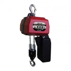 DELTA Elektrische kettingtakel op Batterij - 250kg/500kg