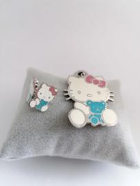 Set ketting en oorbellen Hello Kitty
