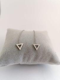 RVS chainoorbellen driehoek