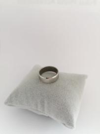 RVS Ring glimrand