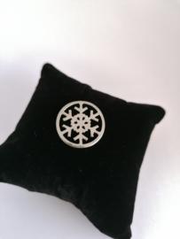 Munt sneeuwster voor medaillon 35mm