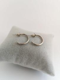 RVS oorbellen stekers/ringen