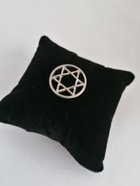 Munt ster voor medaillon 35mm