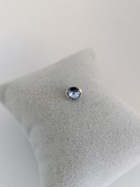 RVS top 6mm lichtblauw