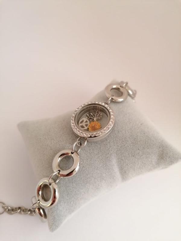 Medaillon armband