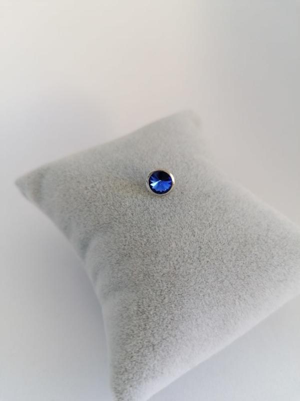 RVS top 6mm donkerblauw