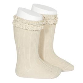 Rib Socks Vintage - Lino