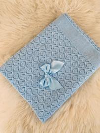 Blanket Light Blue - Valentina