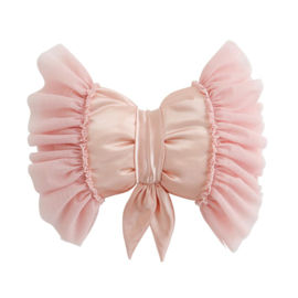 Butterfly Pillow Light Pink