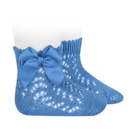 Open Socks w/Bow - Maya