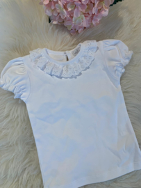 Shirt embroidery white - Laivicar