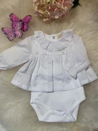 Newborn Blouse white
