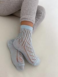 Socks Open Baby Blue