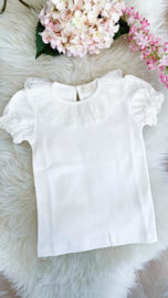Ivory Shirt Lace