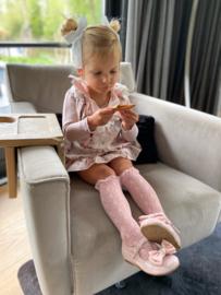 Lace Socks - Dusty Pink