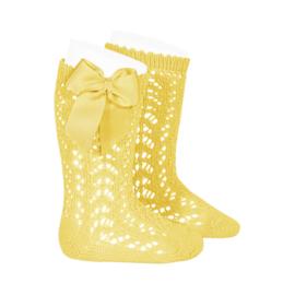 Socks Open Bow- Limoncello
