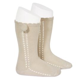 Socks Pompom - Lino