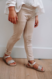 Pants Suede Beige - Petite Zara Label