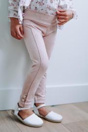 Pants Suede Pink - Petite Zara Label
