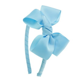 Diadeem Butterfly Bow - Light Blue
