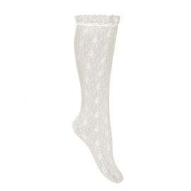Lace Socks  - Cava
