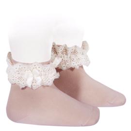 Socks Fancy - Pale Pink