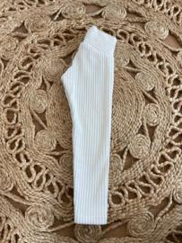Legging Ribbed - Ivory