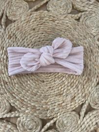 Knotted Headband Light Pink