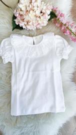 Shirt White Lace