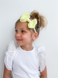 Diadeem Butterfly Bow - Yellow