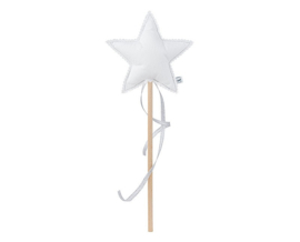 Linen Magic wand - White