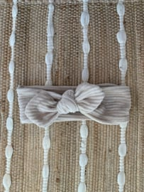 Knotted Rib Beige