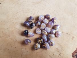 Runenstenen in zakje - Amethist