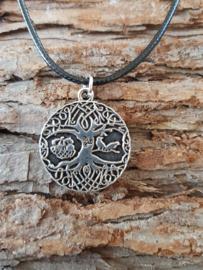 Odin Yggdrasil - zilver klein