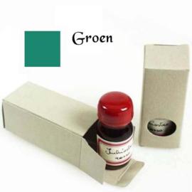 Schrijfinkt 10ml - Groen