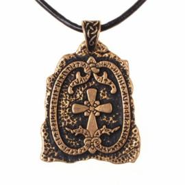 Runesteen amulet, brons