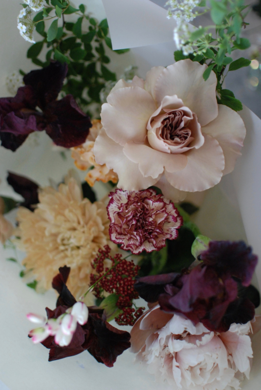 Bouquet (from €25,- and up) pick up and delivery