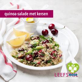 Quinoa salade met kersen