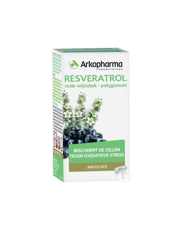 RESVERATROL  - 45 capsules