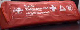 EHBO-kit met gevarendriehoek rode DIN 13164 2014-0