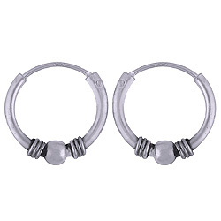 925 sterling zilver oorringetjes India