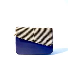 Donna-blauw/streepjes