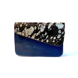 Donna-donkerblauw/zilverzwart