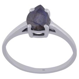 Sterling zilver ring Labradoriet