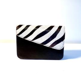 Donna- zwart/zebra