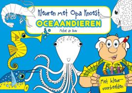 Kleuren met Opa Knoest - Oceaandieren