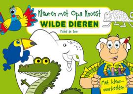 Kleuren met Opa Knoest - Wilde dieren