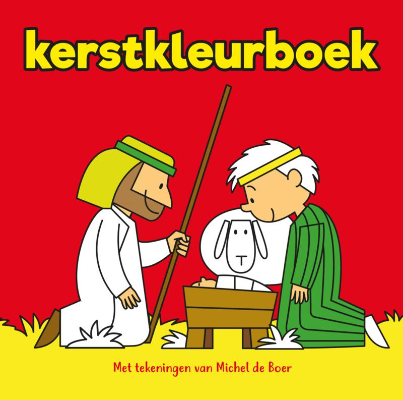 Kerstkleurboek