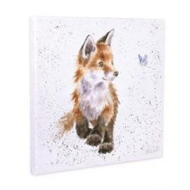 Wrendale canvas schilderij klein, vos